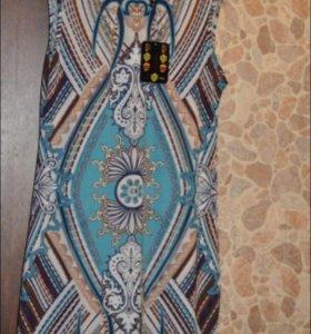 Новое платье-туника на лето