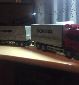 Игрушечный грузовик scania R620