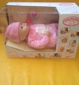 Интерактивная кукла - пупс Baby Annabella