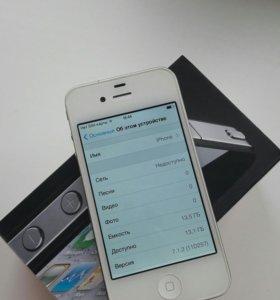 iPhone 4 16 Gb белый