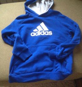 Кофта с капюшоном Adidas (новая)