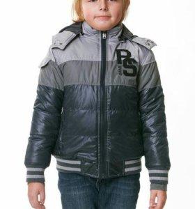 Демисезонная куртка на рост 134