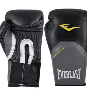 Боксерские перчатки Everlast 16 унций (новые)