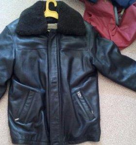Кожаная куртка.торг