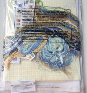 Набор для вышивки Dimensions Дименшенс гортензия