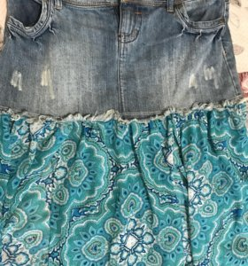 Джинсовая юбка CALZEDONIA