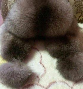 Меховая шапка(песец)