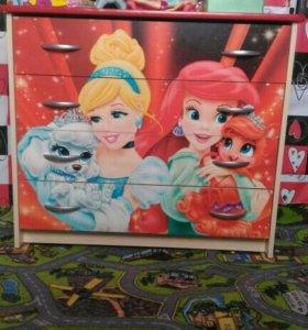 Детская мебель принцессы