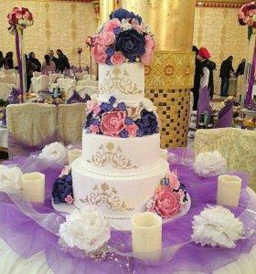 Свадебный торт.предварительный заказ
