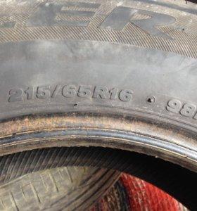Резина 2 колеса бриджстоун