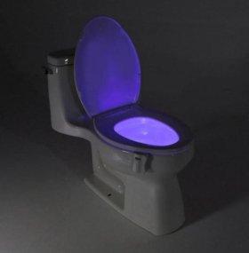 🐈 Подсветка для унитаза - светодиодная