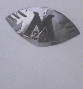Эмблема капота м20ПОБЕДА