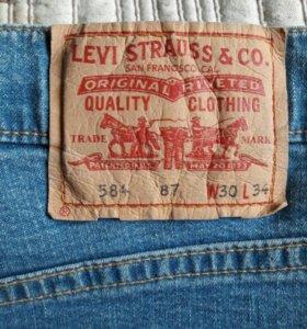 Новые женские джинсы levi's из Финляндии.