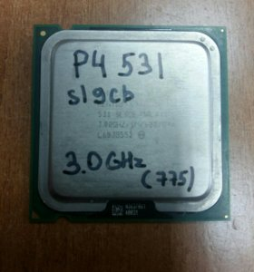 процессор intel Pentium 4 531 (775) 3.0ghz