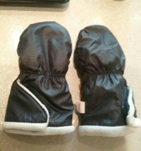 Варежки рукавички детские 0-12 мес Reima весна