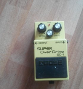 Педаль эффектов super overdrive sd-1