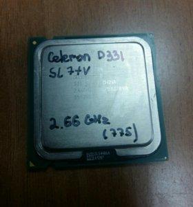 процессор intel Celeron d331 (775) 2.66ghz