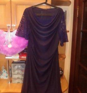Элегантное платье,50-52