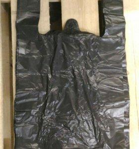 Пакет майка черная 28х50 (2000шт)