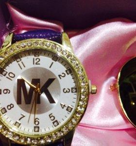 Часы и очки