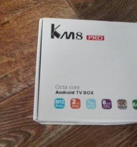 TV Box Km8 pro 2/8