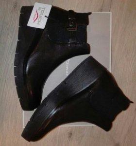 Ботинки женские Tamaris 36 р-р.