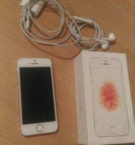 iPhone SE Rose Gold 16гб