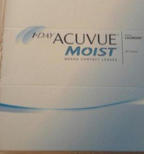 Линзы 1day acuvue moist