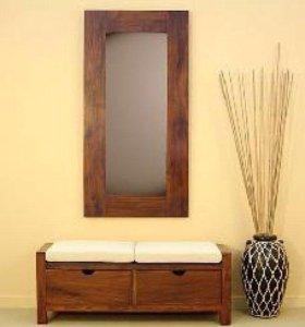 Набор мебели для прихожей из массива дерева