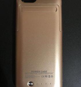 Чехол пауэрбанк для айфона 6 6s.