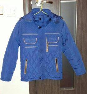 Куртка весенняя на мальчика