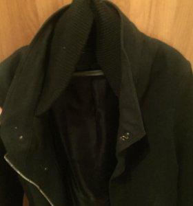 Пальто Zara Man Black Tag