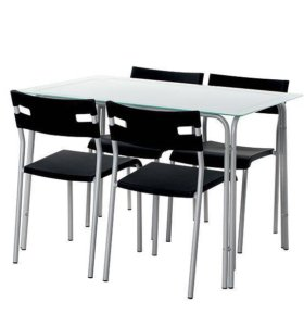 Стол стеклянный на кухню