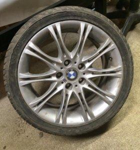 Б/у комплект дисков с резиной BMW