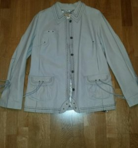 Новая женская кожаная куртка 44-46р