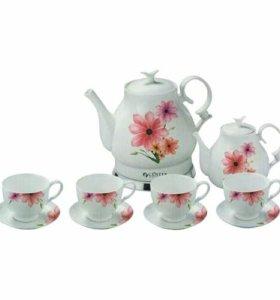 Эликтрический Чайный набор Centek 1059 Flower
