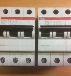 Автоматические выключатели ABB SH203L C16,C32