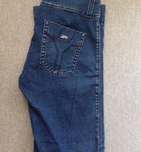 Брендовые джинсы на резинке Miss Sixty р-р 28