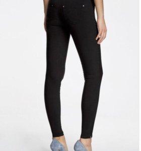 брюки стретч узкие новые