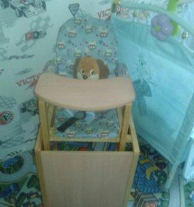 Стул стол для кормления