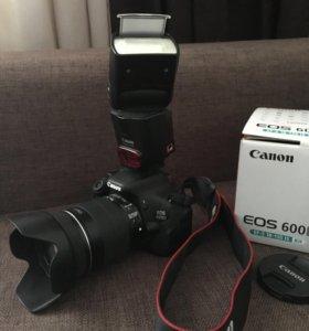Зеркальный фотоаппарат Canon 600D / 18-135