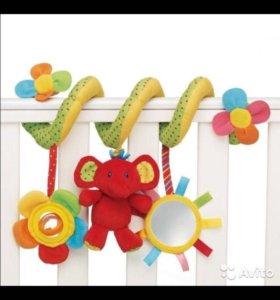 Развивающая игрушка, мобиль-спираль mothercare