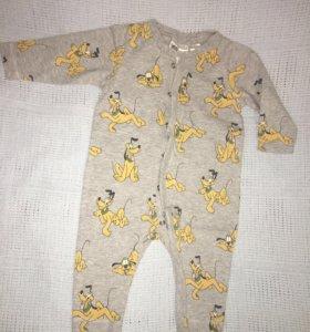 Пижама 4-6мес H&M