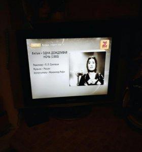 Плоские экран телевизор