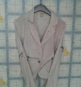 Пиджак лёгкий..размер 42-44