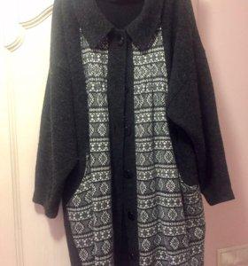 Кофта- пальто размер 58-62