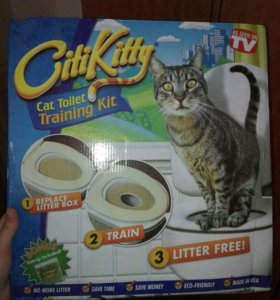 Система приучения кошек к унитазу CitiKitty