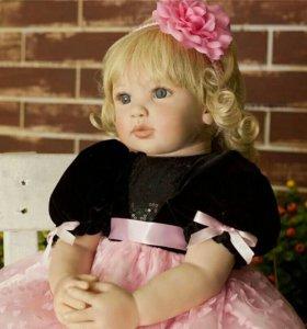 Кукла реборн Милана 55 см