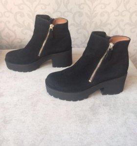 Замшевые ботиночки BASCONI