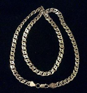 Цепь мужская, серебро 925'